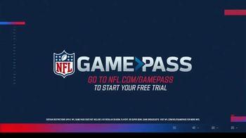 NFL Game Pass TV Spot, 'All Off Season: Free Trial' - Thumbnail 9