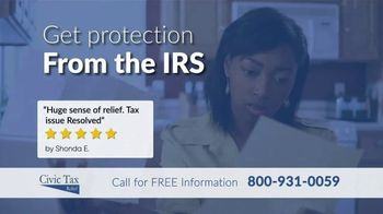 Civic Tax Relief TV Spot, 'Drowning in IRS Tax Debt'