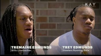Kay Jewelers TV Spot, 'Mama's Boys' Featuring Tremaine Edmunds, Trey Edmunds - Thumbnail 1