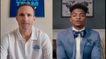 Lowe's Home Team TV Spot, 'Draft Pick' Featuring Drew Brees, Justin Fields - 7 commercial airings