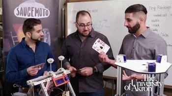 The University of Akron TV Spot, 'Spotlight: Saucemoto' Featuring Matt Kaulig