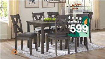 Ashley HomeStore Lowest Prices of the Season TV Spot, 'Beds, Dining and Sofas: 0%' - Thumbnail 4