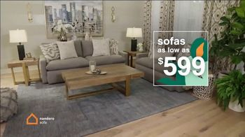 Ashley HomeStore Lowest Prices of the Season TV Spot, 'Beds, Dining and Sofas: 0%' - Thumbnail 5