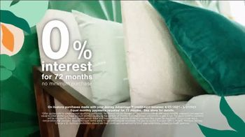 Ashley HomeStore Lowest Prices of the Season TV Spot, 'Beds, Dining and Sofas: 0%' - Thumbnail 6