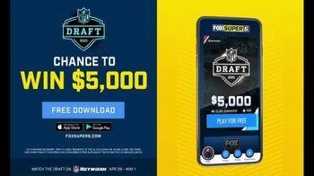 FOX Bet Super 6 TV Spot, '2021 NFL Draft Contest' - Thumbnail 2