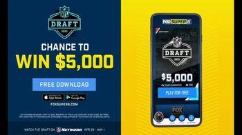 FOX Bet Super 6 TV Spot, '2021 NFL Draft Contest' - Thumbnail 3
