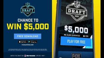 FOX Bet Super 6 TV Spot, '2021 NFL Draft Contest' - Thumbnail 4