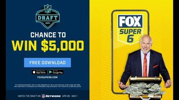 FOX Bet Super 6 TV Spot, '2021 NFL Draft Contest' - Thumbnail 6