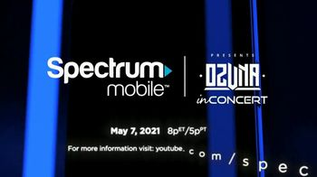 Spectrum Mobile TV Spot, 'Ozuna in Concert: Front Row Seat' - Thumbnail 9