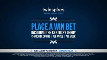 Twin Spires Kentucky Derby Money Back Offer TV Spot, 'Bet on Any Race' - Thumbnail 5