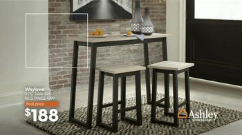 Ashley HomeStore Lowest Prices of the Season TV Spot, 'Beds, Dining and Sofas Starting At' - Thumbnail 4