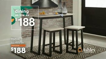 Ashley HomeStore Lowest Prices of the Season TV Spot, 'Beds, Dining and Sofas Starting At' - Thumbnail 5