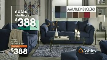 Ashley HomeStore Lowest Prices of the Season TV Spot, 'Beds, Dining and Sofas Starting At' - Thumbnail 6