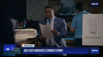Bud Light TV Spot, 'Introducing the Bud Light Summer Stimmy' Featuring Sam Richardson