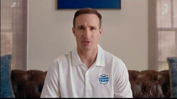 Lowe's Home Team TV Spot, 'On the Clock' Featuring Drew Brees