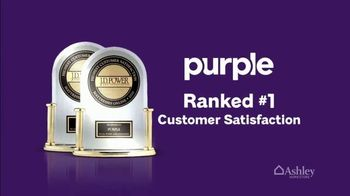 Ashley HomeStore TV Spot, 'Purple Mattress: Customer Satisfaction' - Thumbnail 3