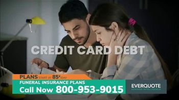 EverQuote Advisor Intelligence Funeral Insurance Plan TV Spot, 'Funeral Costs' - Thumbnail 3