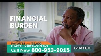 EverQuote Advisor Intelligence Funeral Insurance Plan TV Spot, 'Funeral Costs' - Thumbnail 4