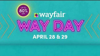 Wayfair Way Day TV Spot, 'Bathroom Upgrades, Rugs and Outdoor Furniture: $50 Off' - Thumbnail 10