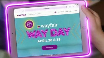 Wayfair Way Day TV Spot, 'Bathroom Upgrades, Rugs and Outdoor Furniture: $50 Off' - Thumbnail 2