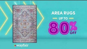 Wayfair Way Day TV Spot, 'Bathroom Upgrades, Rugs and Outdoor Furniture: $50 Off' - Thumbnail 5