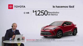 2021 Toyota C-HR TV Spot, 'Comentarista deportivo: C-HR' [Spanish] [T2] - Thumbnail 2