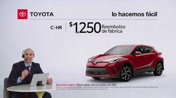 2021 Toyota C-HR TV Spot, 'Comentarista deportivo: C-HR' [Spanish] [T2] - Thumbnail 3