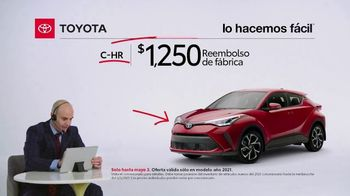 2021 Toyota C-HR TV Spot, 'Comentarista deportivo: C-HR' [Spanish] [T2] - Thumbnail 6