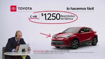 2021 Toyota C-HR TV Spot, 'Comentarista deportivo: C-HR' [Spanish] [T2] - Thumbnail 7