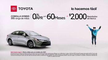 2021 Toyota Corolla Hybrid TV Spot, 'Videojuego' [Spanish] [T2] - Thumbnail 4