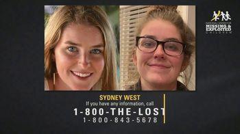 National Center for Missing & Exploited Children TV Spot, 'Sydney West' - Thumbnail 4