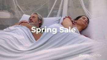 Purple Spring Sale TV Spot, 'Free Sheets and Pillow' - Thumbnail 2