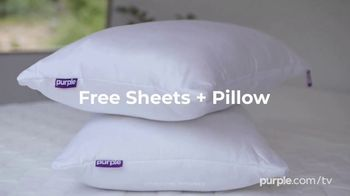 Purple Spring Sale TV Spot, 'Free Sheets and Pillow' - Thumbnail 4