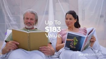 Purple Spring Sale TV Spot, 'Free Sheets and Pillow' - Thumbnail 5