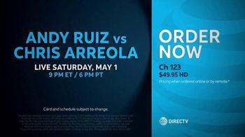 DIRECTV TV Spot, 'Andy Ruiz vs. Arreola' - Thumbnail 10