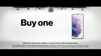 Verizon TV Spot, 'The Only Thing Better: BOGO on 5G Phones' - Thumbnail 5