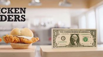 Arby's Chicken Sliders TV Spot, 'Easy to Remember' - Thumbnail 2