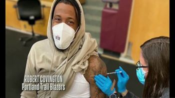 NBA Cares TV Spot, 'NBA Players COVID-19 Vaccine PSA' - Thumbnail 8
