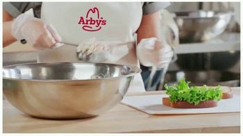 Arby's Pecan Chicken Salad Sandwich TV Spot, 'Can't Be Topped' Song by YOGI - Thumbnail 5