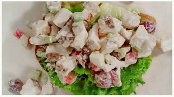Arby's Pecan Chicken Salad Sandwich TV Spot, 'Can't Be Topped' Song by YOGI - Thumbnail 7
