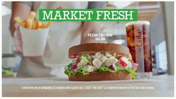 Arby's Pecan Chicken Salad Sandwich TV Spot, 'Can't Be Topped' Song by YOGI - Thumbnail 8