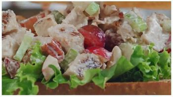 Arby's Pecan Chicken Salad Sandwich TV Spot, 'Can't Be Topped' Song by YOGI - Thumbnail 9