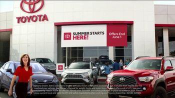 Toyota Summer Starts Here TV Spot, 'Sports' [T1] - Thumbnail 1