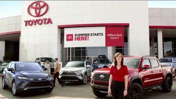 Toyota Summer Starts Here TV Spot, 'Sports' [T1] - Thumbnail 8