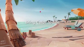 Sherwin-Williams TV Spot, 'Bring Color to Life: Blue Cruise, Waterscape, Pink Shadow' - Thumbnail 4