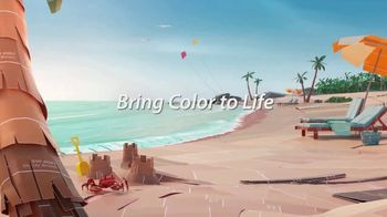 Sherwin-Williams TV Spot, 'Bring Color to Life: Blue Cruise, Waterscape, Pink Shadow' - Thumbnail 5