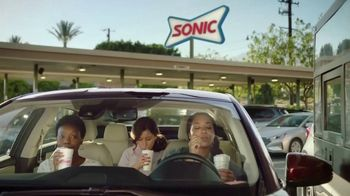 Sonic Drive-In TV Spot, 'Half-Price Drinks'