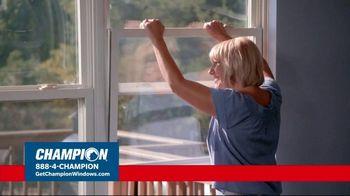 Champion Windows TV Spot, 'Struggling to Get Fresh Air: 40%' - Thumbnail 1