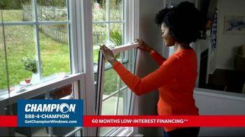 Champion Windows TV Spot, 'Struggling to Get Fresh Air: 40%' - Thumbnail 2