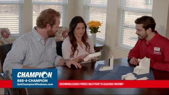 Champion Windows TV Spot, 'Struggling to Get Fresh Air: 40%' - Thumbnail 5